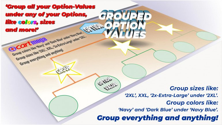 Group OptionValues Filter/ColorDial for Journal 3x OC 3.x