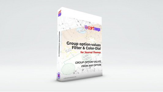 Group OptionValues Filter/ColorDial for Journal 3x OC 2.3.x