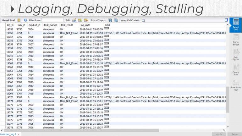 Logging Extension for MultiScraper Pro