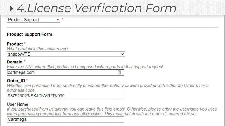 License Verification for osTicket (Digital Product & Software Registration)