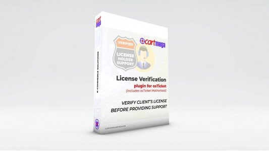 License Verification for osTicket