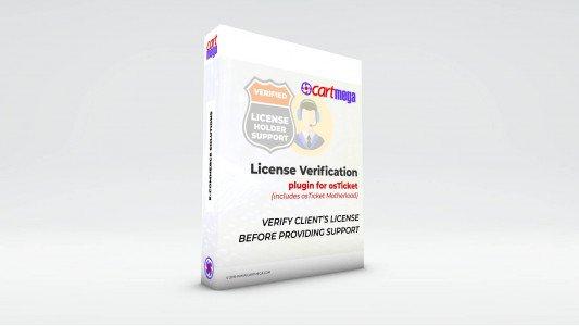 License Verification for osTicket
