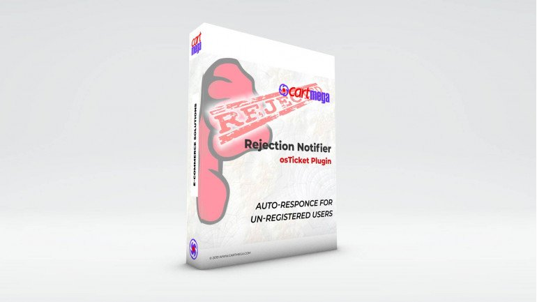 Rejection Notifier for osTicket